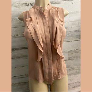 Ann Taylor blush pink women blouse